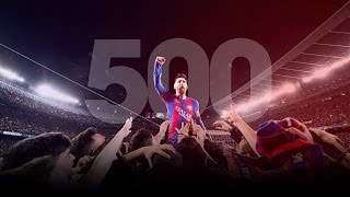 VIDEO: Lionel Messi All 500 Goals for Barcelona 20042017 ||HD||