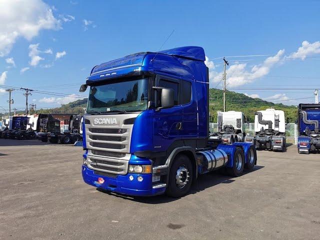 Vídeo do caminhão R440 6x2 HighLine