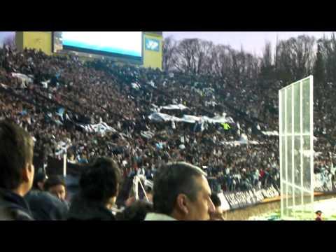 """""""los caudillos dan la vida!!( vs riBer )"""" Barra: Los Caudillos del Parque • Club: Independiente Rivadavia"""