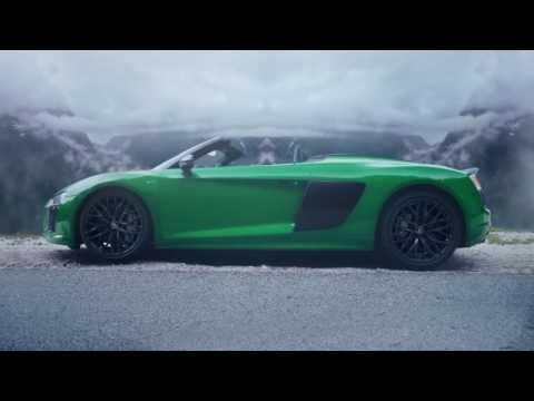 Novo Audi R8 Spyder V10 Plus é o roadster mais rápido da marca