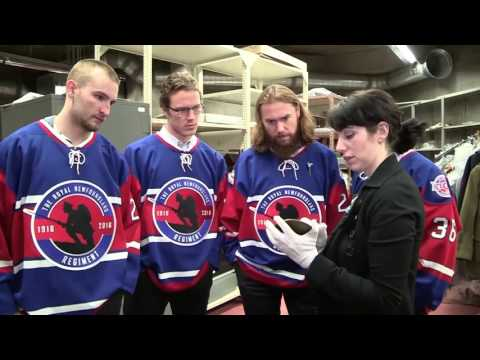 IceCaps Players Check Out War Artifacts - Part 3 of 3