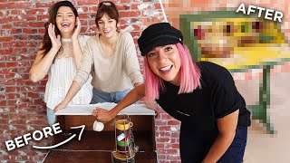we transformed gabbie's trash (she loves it now)