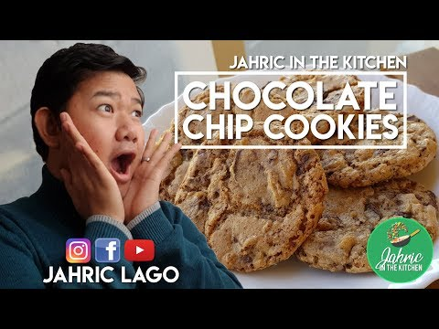 Chocolate Chip Cookies by Jahric Lago | Jahric in the Kitchen