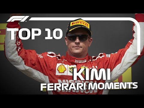 Top 10 Kimi Raikkonen Moments at Ferrari