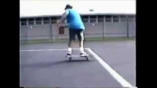 Jeff Dean (All Eyes West, Dead Ending, The Bomb) Skateboarding in 1990