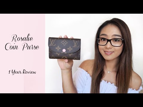 Rosalie Coin Purse 1 Year Review + What Fits | Louis Vuitton