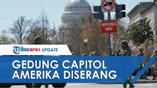 Gedung Capitol Amerika Diserang, Serang Dua Petugas Keamanan, Identitas Pelaku Masih Misterius