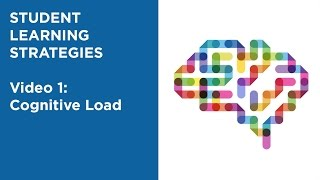 MOOC EDSCI1x | Video 1: Cognitive Load | Student Learning Strategies