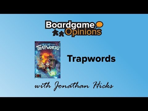 Boardgame Opinions: Trapwords