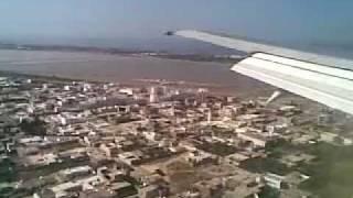preview picture of video 'Посадка в аэропорту Монастир / Landing at Monastir airport 2009'