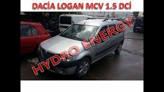 Dacia Logan MCV hidrojen yakıt tasarruf sistem montajı