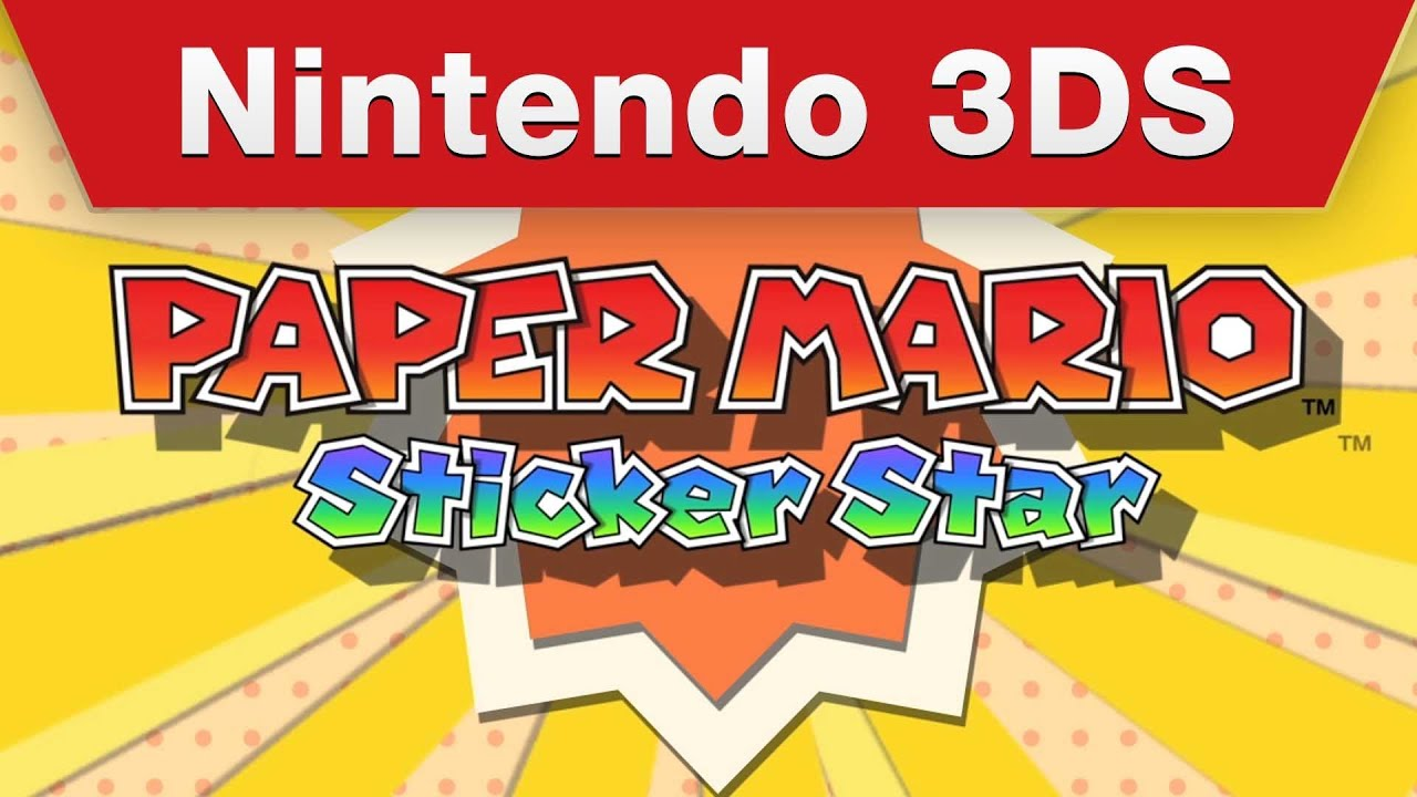 New Paper Mario Trailer Shows Off Stickers And Goats