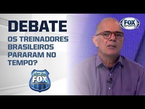 OS TREINADORES BRASILEIROS PARARAM NO TEMPO?