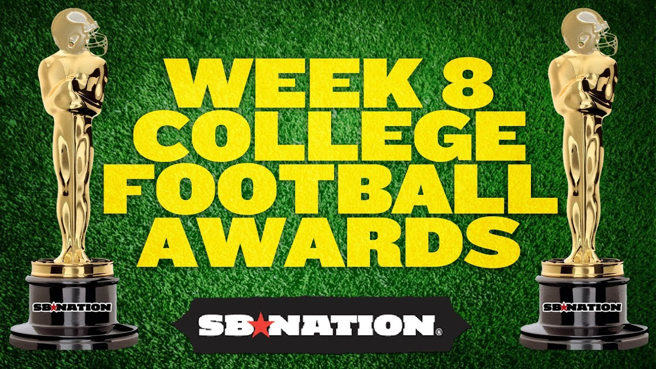 College Football Week 8 Awards thumbnail