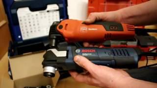 Bosch GOP 40-30 (Starlock) und Fein FMM 350 Q Vergleich auf deutsch