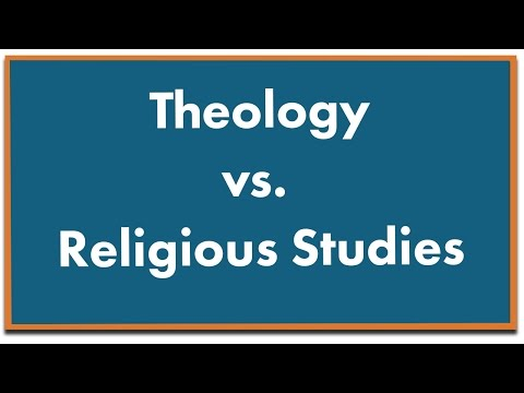 What is the Difference Between Theology and Religious Studies?