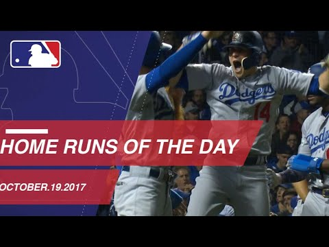 Check out all the homers from NLCS Game 5: 10/19/17