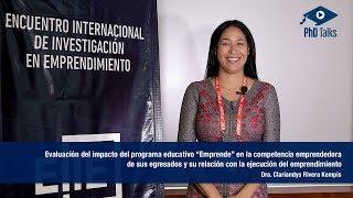 Evaluación del impacto del programa educativo Emprende en la competencia emprendedora de sus egresados y su relación con la ejecución del emprendimiento