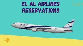 Flat 30% Off on Fares with El Al Airlines Reservations