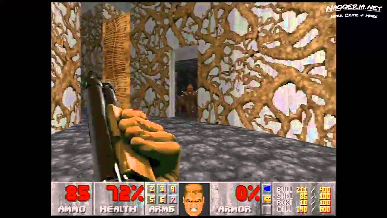 "Doom (E2M4 ""Deimos Lab"") Walkthrough – Ultra-Violence"