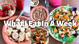 What I eat in a week (vegan in college)