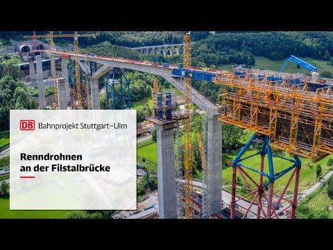 Baufortschritt Filstalbrücke