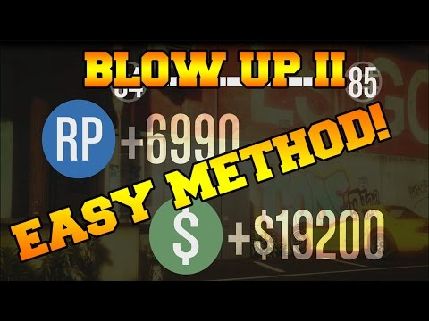 GTA 5 Online Best Paying Mission/Job Money and RP Solo Easy