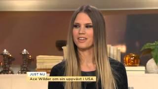 """Ace Wilder: """"Jag har lärt mig att jobba hårt"""" - Nyhetsmorgon (TV4)"""