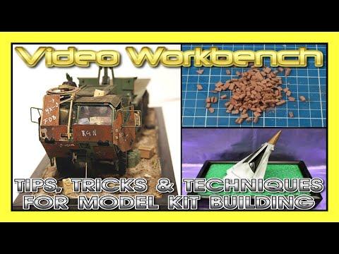 Tips, Tricks & Techniques for Model Kit Building | Video Workbench