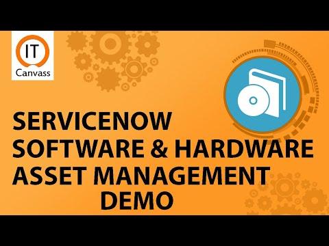 Servicenow Asset Management Demo | Servicenow Software ...