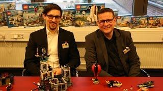 Interview with the LEGO City Design Team in Billund HQ
