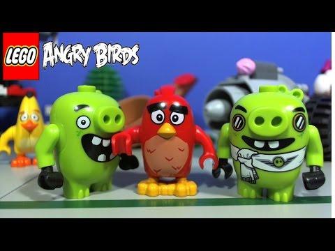 Lego angry birds 75822 pas cher l 39 attaque en avion du cochon - Cochon angry bird ...