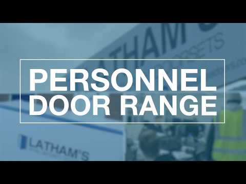 Latham's Steel Personnel Door Range