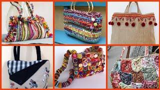 Beautiful New Fabric Handmade Bag Collection