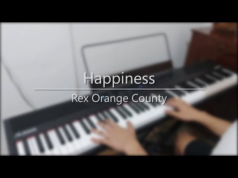 Download How To Play Happiness By Rex Orange County On Piano