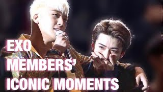 EXO MEMBERS'S MOST ICONIC MOMENTS (Part 1)