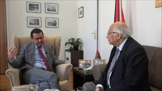 Talking Middle East - Botschafter Salah Abdel Shafi im Gespräch mit Ramesh Jaura