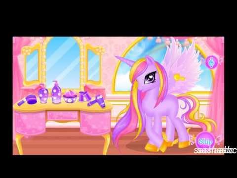 unicorn princess hair salon обзор игры андроид game rewiew android