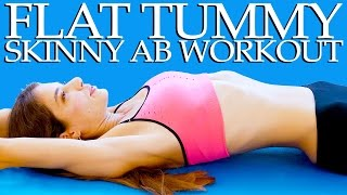 Flat Tummy Skinny Abs Workout – 20 Minute At Home Fitness Routine For Beginners by PsycheTruth