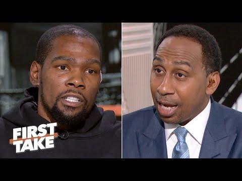 Kevin Durant on Steve Kerr, NBA Finals regrets, Warriors medical staff | First Take