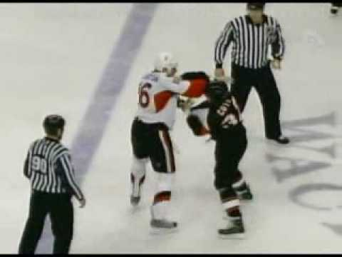 Brian McGrattan vs Riley Cote