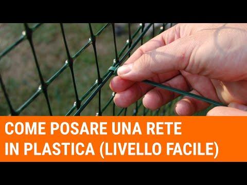 Tutorial: come installare una recinzione (livello facile/hobbystico)