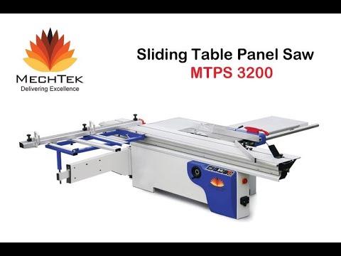 MTPS 3200 Sliding Table Panel Saw Machine