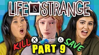 MURDER OR MERCY?!?!   LIFE IS STRANGE - Part 9 (React: Gaming)