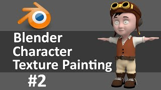 Blender Character Texture Painting 2 of 6