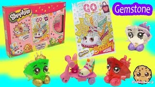 Shopkins Stopmotion Make Your Own Gemstone Picture - Cookieswirlc Video