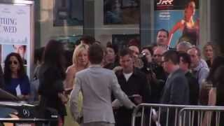 Matthew Bellamy, Kate Hudson And Matthew Bellamy Lock Lips At 'Something Borrowed' Premiere part 1