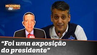 José Maria Trindade: Denúncia de corrupção acende sinal vermelho no governo