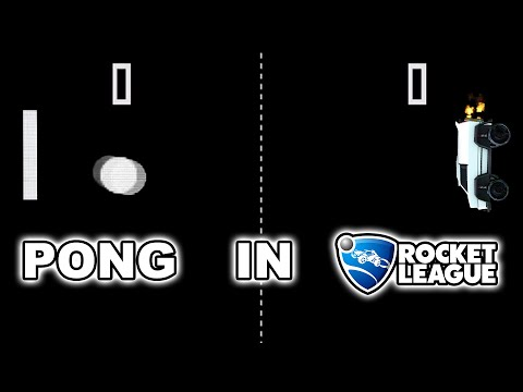 PONG IN ROCKET LEAGUE IS NOW A THING