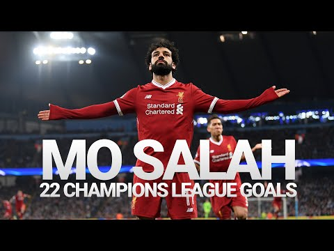 Record breaker! Mo Salah's 22 Liverpool goals in the Champions League